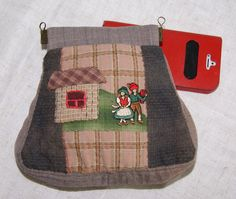 "Cosmetic bag ""My little village"""