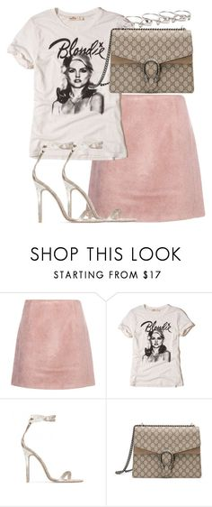 """Untitled #2906"" by theeuropeancloset on Polyvore featuring Acne Studios, Hollister Co., Baldwin, Gucci and Maison Margiela"
