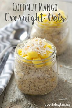 ca coconut mango overnight oats the busy baker coconut mango ...