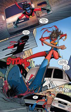 Kamala on the Marvel Database