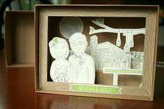diorama cutout city - Google Search