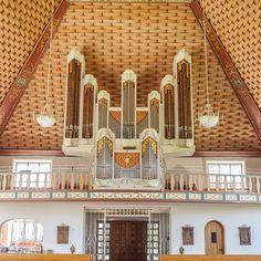 Rensch-Orgel, Dreifaltigkeitskirche Kirchdorf/Iller by Mathias Myka, via Flickr