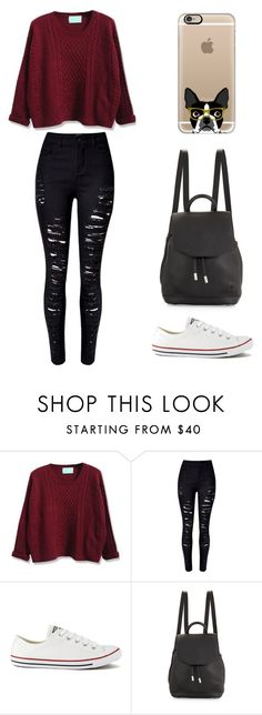 """""""Sin título #163"""" by karenrodriguez-iv on Polyvore featuring moda, Converse, rag & bone y Casetify"""
