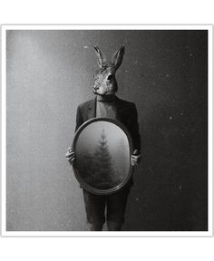 Animals in my room - Rabbit of Evgeniy Stepanets now on JUNIQE!