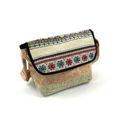 Retro Crossbody Purse Bag with Flap Folk Shoulder by Tribalover