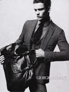 725b20795a2a Men s fashion ad by Georgio Armani Emporio Armani