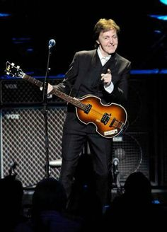 Paul McCartney.  A George Vreeland Hill Pinterest post.  #PaulMcCartney  #GeorgeVreelandHill