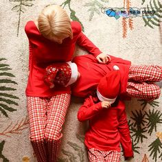 pijamas navidad Red Leather, Leather Jacket, Mother And Child, Children, Jackets, Fashion, Kids Fashion Blog, Vestidos, Sons