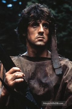 A gallery of First Blood publicity stills and other photos. Featuring Sylvester Stallone, Brian Dennehy, Richard Crenna, Jack Starrett and others. Rambo 3, John Rambo, Silvestre Stallone, Rocky Series, Rocky Film, Rocky Balboa Poster, Sylvester Stallone Rambo, Stallone Movies, Andre Luis