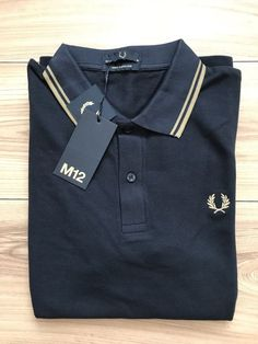 New With Tags Men's Authentic Fred Perry Polo Shirt. Fred Perry, Polo Shirt, Polo Ralph Lauren, Tags, Medium, Link, Clothing, Mens Tops, Shirts