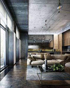 I Love everything about this space!❤❤ #Loft design by Oleksii Komarov #d_signers