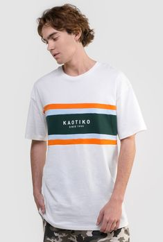 Buy T-Shirts By Kaotiko BCN clothing e-Shop · T-shirts, sweatshirts, trousers, trendy sneakers and streetstyle accessories Umgestaltete Shirts, Boys Shirts, T Shirts For Women, Tee Shirt Designs, Tee Design, Streetwear, Buy T Shirts Online, Geile T-shirts, Shirt Refashion