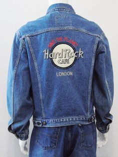 Check out this item in my Etsy shop https://www.etsy.com/listing/455850324/hard-rock-cafe-london-levis-red-tab