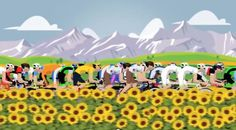 The Tour de France explained. Check out the cool animated video on the link http://www.xploritall.com/blogpost.php?blogid=41