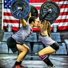 The Best Pics Of Fitness Couples & Bodybuilding Couples: People without a workout partner beware! We've collected some of the best pics of fitness couples living and lifting together. Crossfit Couple, Gym Couple, Couple Workout, Workout Couples, Workout Partner, Couples Exercise, Crossfit Baby, Couple Goals, Bodybuilder
