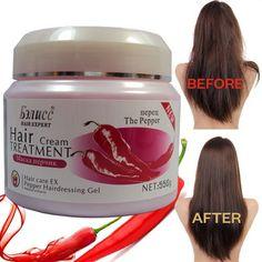 Hair Mask Treatment Red Pepper Essence - Moisturizing Nourishing Damaged Repair