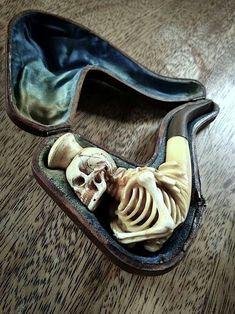 Skeleton pipe.