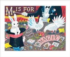 M is for Magic by Emily Sutton