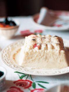 米のつぶつぶ感が楽しめる、上品な甘さのフランス伝統菓子|『ELLE gourmet(エル・グルメ)』はおしゃれで簡単なレシピが満載!