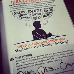 Idea generation #sketchnoteworkbook   Flickr - Photo Sharing!