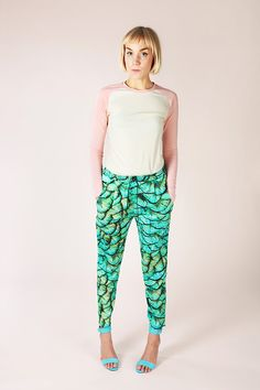 Alexandria Peg Trousers - Named