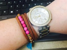New bracelet from @mesablue #armparty #armcandy