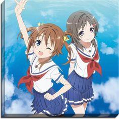 High School Fleet Anime Canvas