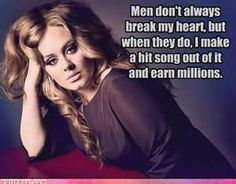 Adele- Always having the last laugh!