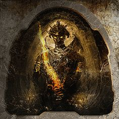 """One of the reasons I love the Legacy of Kain video game series so much, especially """"Defiance,"""" is because of the amazing in-game artwork featured when Raziel and Kain encountered murals in specific places. This is one of the more awesome ones."""