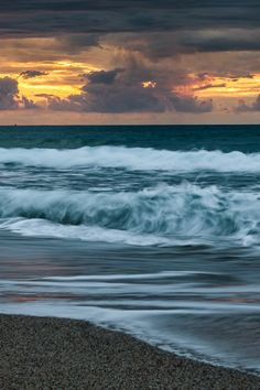 West coast sunset by Ivan Pedretti