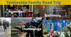 See the beautiful state of Tennessee on the Tennessee Family Road trip! See the Smoky Mountains and hear some great Country music.