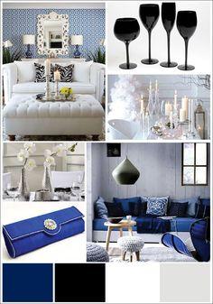 Royal Blue And Black Bedroom blue bedroom, royal blue and black | decor | pinterest | blue