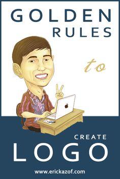 Easy step to create professional logo. Read more: http://www.erickazof.com/proses-pembuatan-logo-profesional/