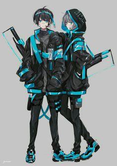 Griffonnages Kawaii, Kawaii Anime, Manga Anime Girl, Anime Neko, Anime Angel Girl, Anime Girl Dress, Cool Anime Guys, Cute Anime Boy, Cute Anime Character