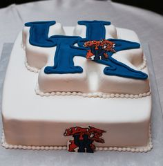 Oh @Shara Lunn...Look what just popped up on Pinterest.  ;o)  University of Kentucky groom's cake!