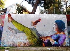 Pichi & Avo Athens, Greece #streetart #art #graffiti #mural