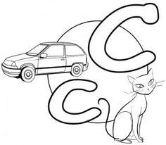 The Letter C-c (The English Alphabet)