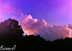 Purple clouds sky aesthetic credit to BonnieT