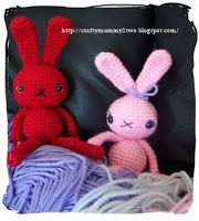 Easy Bunny Amigurumi - FREE Crochet Pattern and Tutorial
