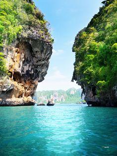 Click to discover your trip to paradise in Thailand!   #thailand #travel #reisen #urlaub #beach #water #krabi #thai #lagoon #Lagune #paradies #tropical #beautiful #relax  #paradise