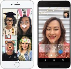 Ajout de masques et effets dans Facebook Messenger