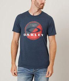 Oakley T-Shirt - Men's T-Shirts in Dark Blue Heather Boys T Shirts, Tee Shirts, T Shart, T Shirt Printer, Cool Tees, Boy Outfits, Shirt Designs, Mens Tops, Men's T Shirts