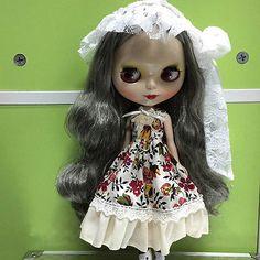 Takara-12-Neo-Blythe-Doll-Curly-pelo-de-Factory-AG08W