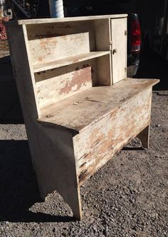 Town and Country furniture Refurbished Furniture, Repurposed Furniture, Pallet Furniture, Furniture Projects, Vintage Furniture, Painted Furniture, Primitive Cabinets, Primitive Furniture, Country Furniture