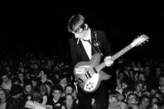 Weller on stage with The Jam