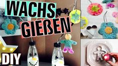 DIY | SILVESTERSPIEL | WACHS GIEßEN | GEBURTSTAGSIDEE - YouTube Youtube, Wax, Candles, Projects, Youtubers, Youtube Movies