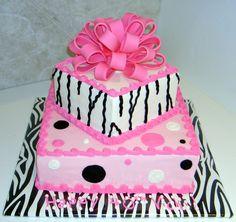 Pink and Zebra ... LOVE