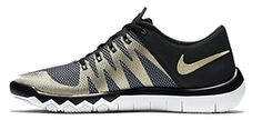 Nike Mens Free Trainer 50 v6 Mesh CrossTrainers Shoes 13 BlackWhiteMetallic Gold -- Be sure to check out this awesome product.