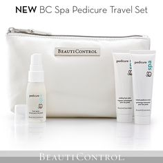 #BeautiControl's BC Spa Pedicure is now available in travel-friendly sizes! #Pedicure #Travel www.beautipage.com/fountain
