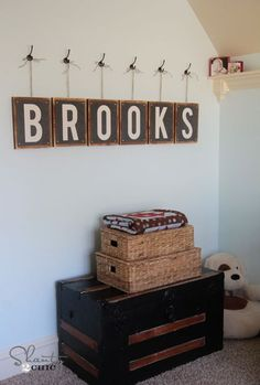 Free Printable Letters - Print 8x10 letters for any room for FREE! LOVE these! by Shanty 2 Chic